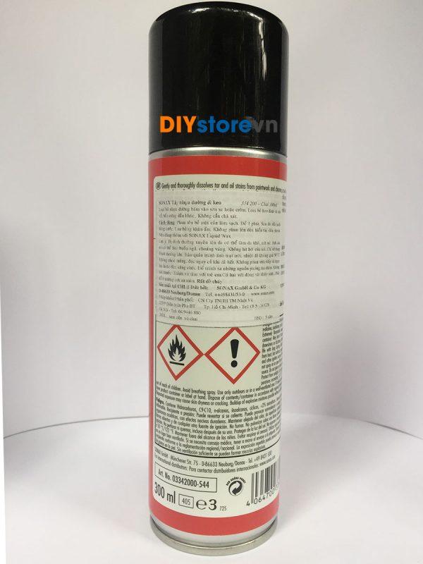 Dung dịch tẩy nhựa đường và băng keo SONAX Tar Remover, 300ml