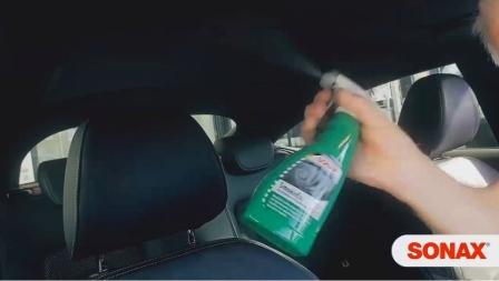 Xịt khử mùi nội thất SONAX SmokeEx dùng cho xe hơi, nhà ở, văn phòng, 500ml