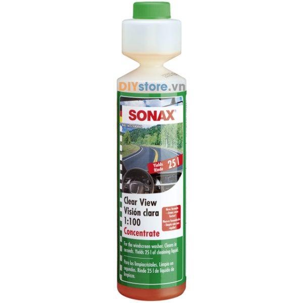 Nước rửa kính đậm đặc SONAX Clear view 1:100 concentrate, 250ml