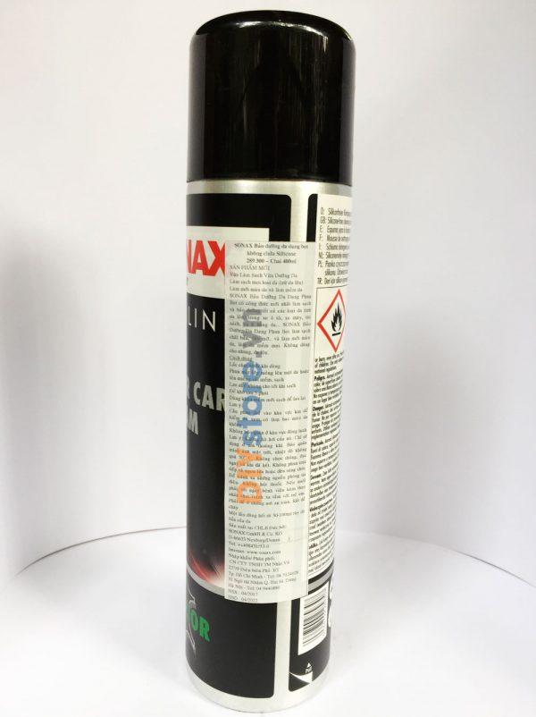 Dung dịch làm sạch và bảo dưỡng daSONAX PROFILINE Leather Care Foam,400ml