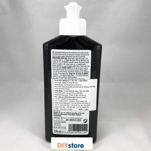 Bảo dưỡng da nội thất ô tô SONAX Leather Care Lotion, 250ml