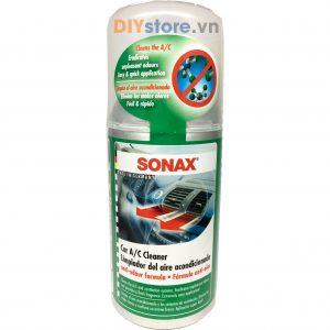 Chất khử mùi điều hòa ô tô SONAX Car A/C Cleaner, 100ml