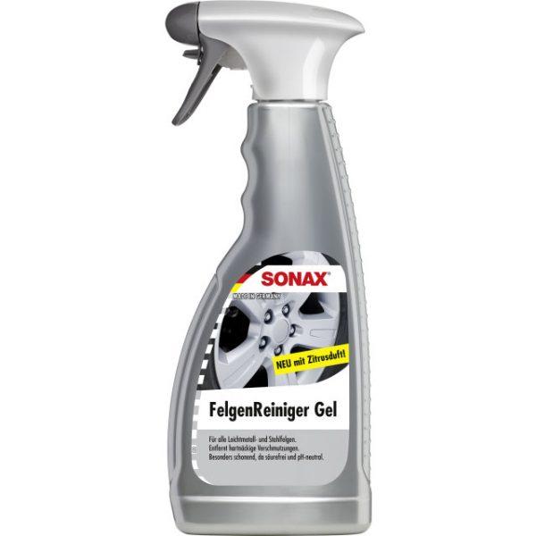 Sonax Wheel Cleaner - Dung dịch làm sạch mâm vành, đĩa phanh không chứa axit, không gây ăn mòn, 500ml
