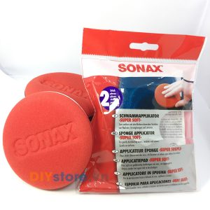 Mút siêu mềm đa dụng SONAX Sponge Applicator Super Soft, set 2 miếng