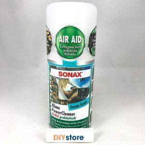 Chất khử mùi điều hòa ô tô SONAX Car A/C Cleaner Ocean Fresh (mùi đại dương), 100ml