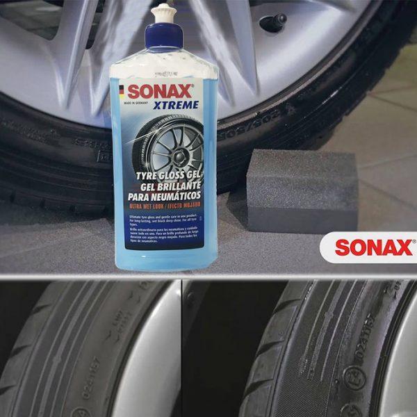 Gel bảo dưỡng và làm bóng lốp xe SONAX XTREME Tyre Gloss Gel, 500ml